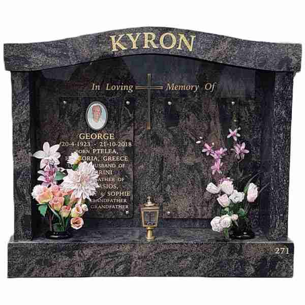 Cemetery Chapel, Monumental Mason