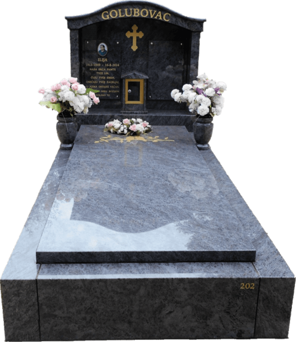 Cemetery Full Monuments