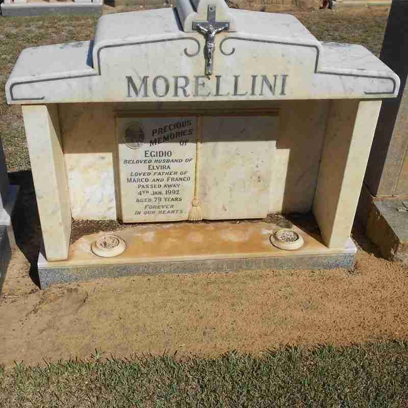 Fremantle Monumental Centre - Headstones - Before Repair